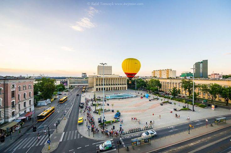 Poland, Lodz, Plac Dąbrowskiego