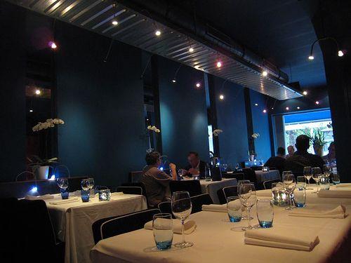 blue pepper interior restaurant