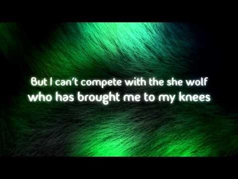 David Guetta feat. Sia - She Wolf (Falling to Pieces) Lyrics Video [Original Mix] HD
