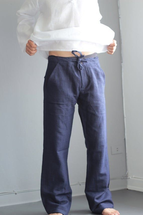 Ready To Ship Today 100 Percent Hemp Pants P 1434 Linen Fashion African Attire For Men How To Wear