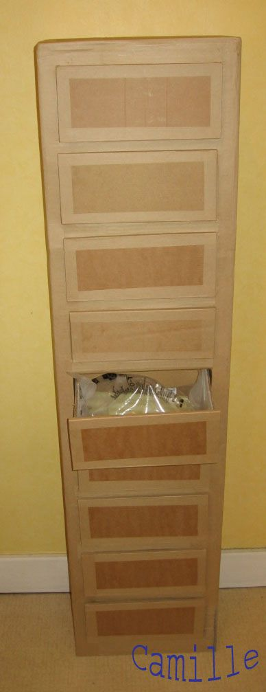 1000 id es sur le th me cuisine en carton sur pinterest for Meuble carton tuto