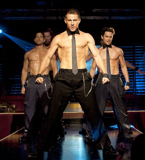Magic Mike..yeah definitely buying posters, t-shirts, movie, everything with magic mike.. haha