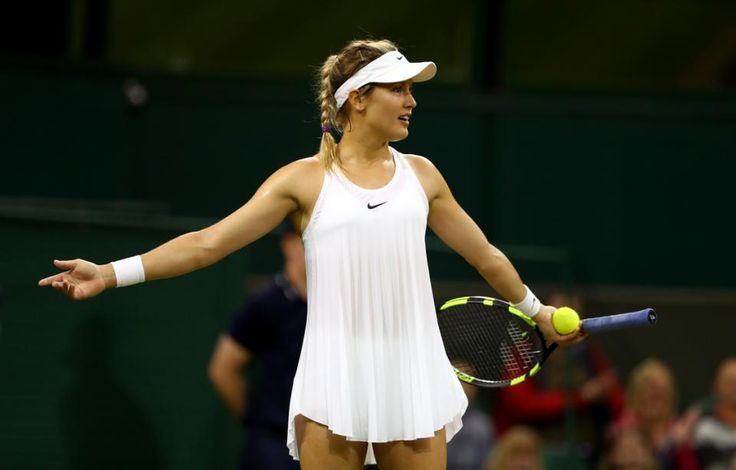 Day Three: The Championships - Wimbledon 2016 -  In an unexpected twist of fate, Eugenie Bouchard ends up back on the court of her finest career moment, the memories flooding back (Stephanie Myles / Eh Game) - Wimbledon 2016 R1
