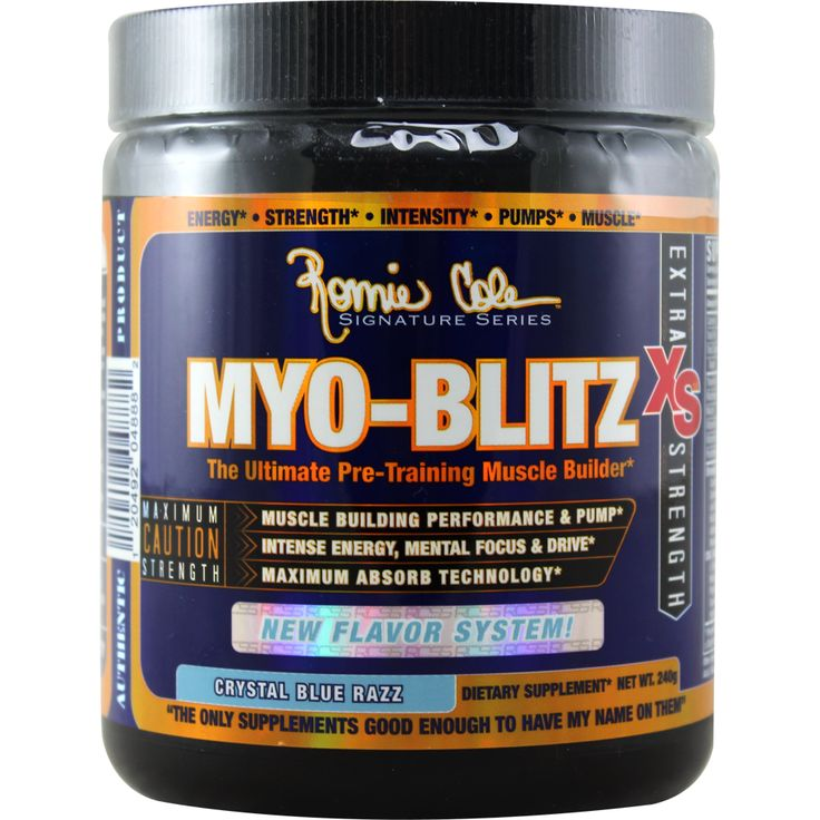 Ronnie Coleman Signature Series Myo-Blitz-XS Blue Razz 30 svg | Regular Price: $69.99, Sale Price: $40.99 | #onSale  | Myo Blitz The Ultimate Pre Training Muscle BuilderIntense Energy Mental Focus Strength Pumps Performance Muscle Building Maximum Absorb Technology When I first came out with Myo Blitz Xs I wanted to create a pre workout that performed and gave you a solid energy without any jitters From the performance aspect I received great feedback but I wasn t getting the