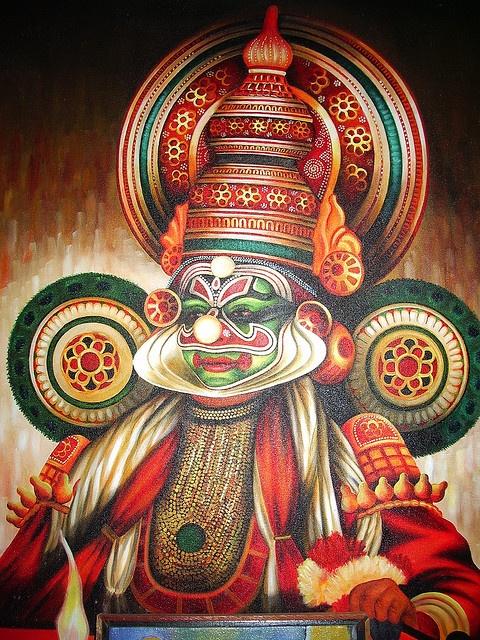 kathakali disguise