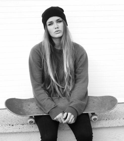 hot #skater #blonde