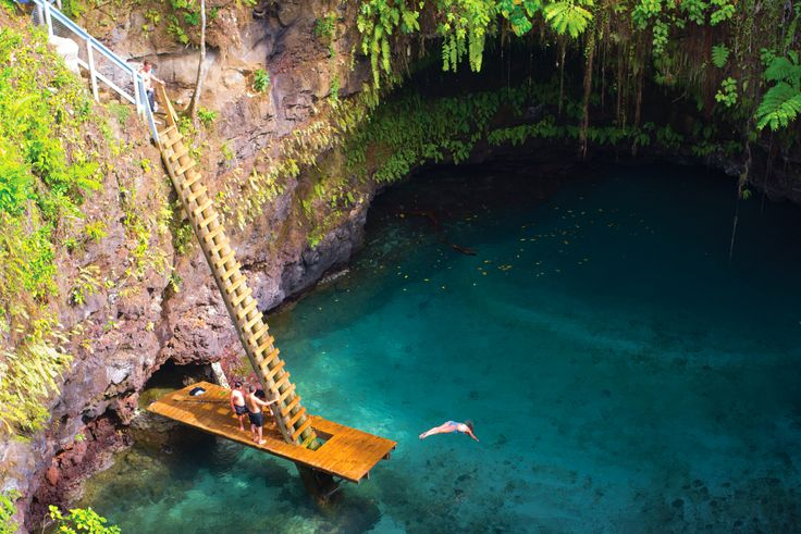 96. Swim in Samoa's To Sua Ocean Trench