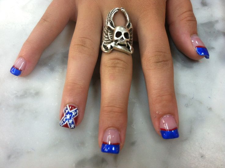 Rebel Flag Baby - Best 25+ Flag Nails Ideas On Pinterest American Flag Nails