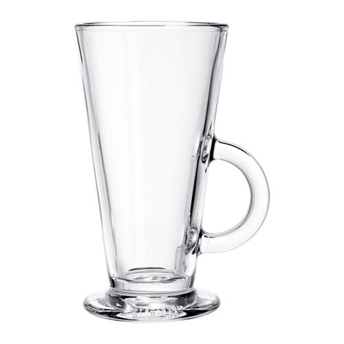 IKEA BEPRÖVAD Glass Clear glass 29 cl Also suitable for hot drinks.