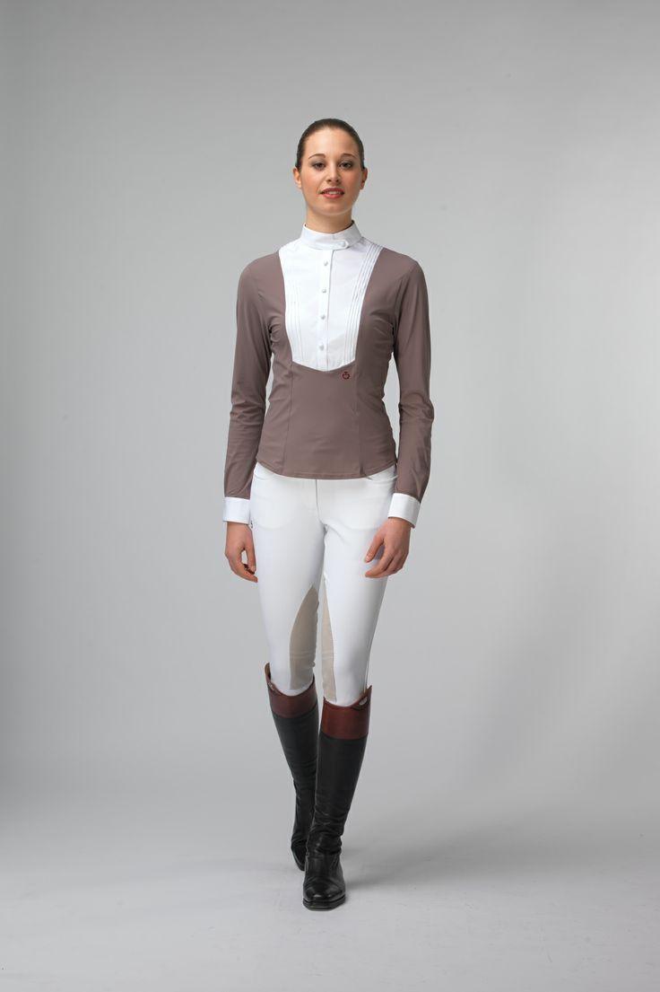 Cavalleria Toscana Woman Technical Shirt With Bib