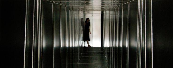 Decision Corridors installation by Carsten Höller 'Decision' Exhibition Hayward Gallery 2015