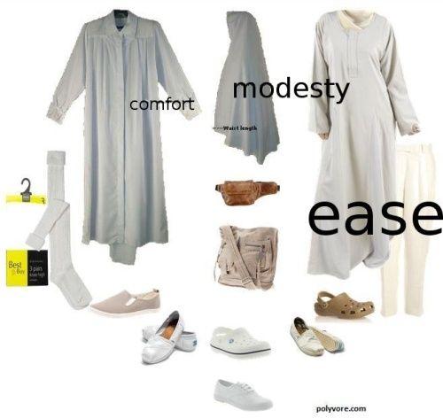 how to wear ihram for men