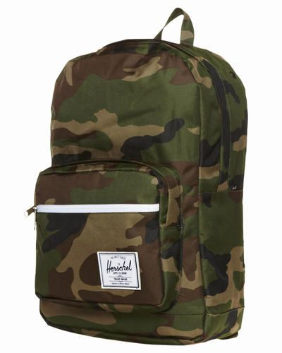 Herschel Backpack - Shop here > http://www.surfstitch.com/eu/en/product/herschel-pop-quiz-backpack-20l-woodland-camo-1001132 #camo #military #backpack