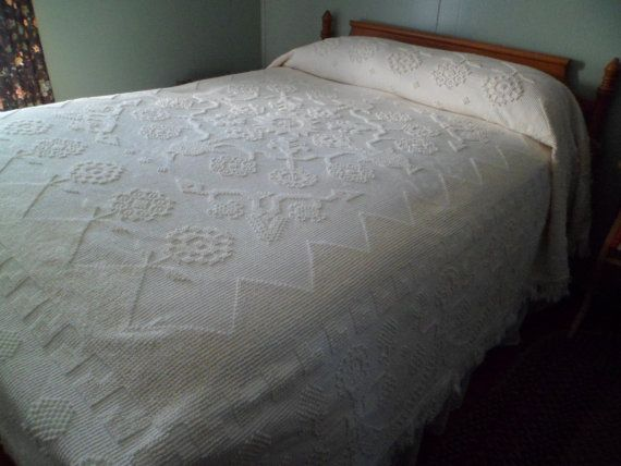 Washing a vintage chenille bedspread