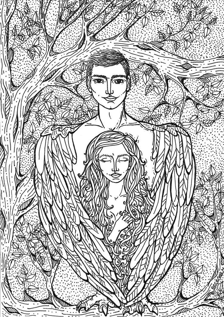 Mari Veselaya #MariVeselaya #Love #Miyvarxar #Doodlong #Eagle #Birds #Wings