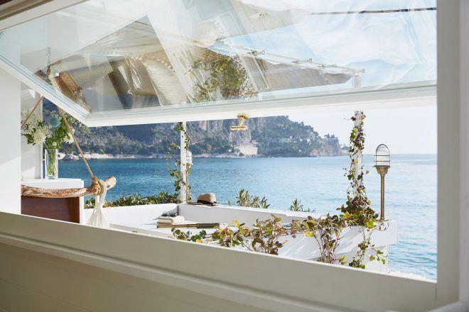 Ένα μικρό chic σπίτι στην Ιταλική Ριβιέρα