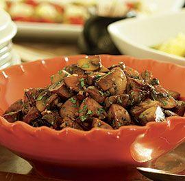 Sauteed Mushrooms with Garlic & Parsley | Recipe | Sauteed Mushrooms ...