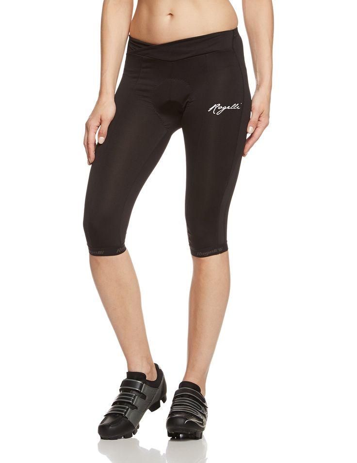 Rogelli - Culotte para mujer, talla S, color negro