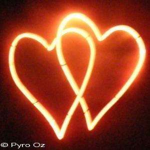 Interlocking Hearts - PyroBox by Pyro Oz