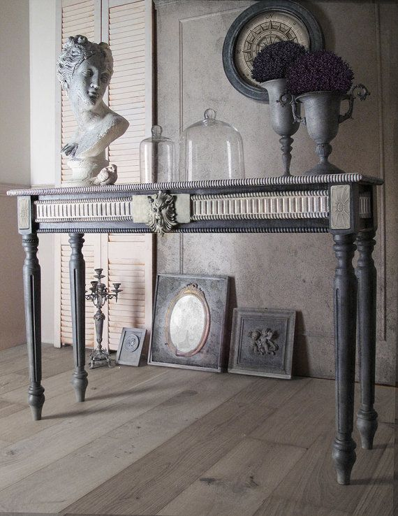 Antique Console Table Furniture Console Table Chic by NadinHome