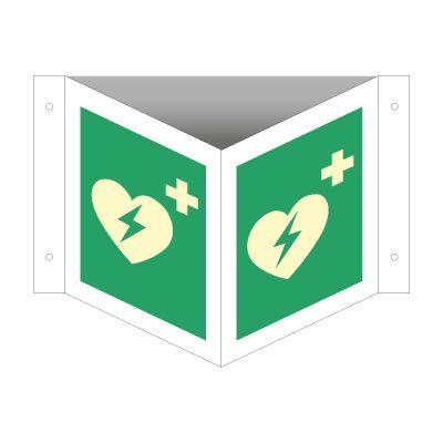 Hjertestarter - Kjøp Vinkelskilte her