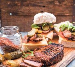 Steak Burgers #Beef #Recipe #SouthAfrica