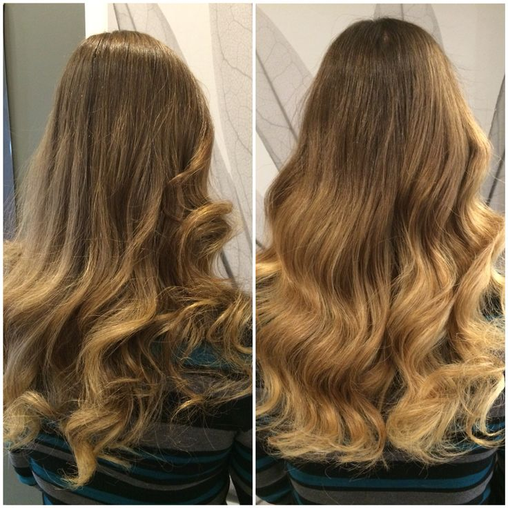 Hair by Kendra. Natural looking ombré on grown out highlights. To book an appointment with Kendra, call (780) 467-3288 or visit our website at www.sylviaco.com. Located in Sherwood Park, Alberta, Canada.