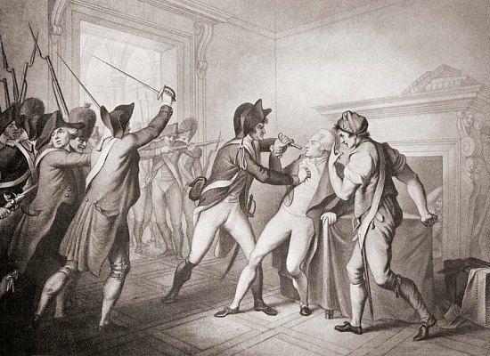 Arrestation de Robespierre. 27 juillet 1794 : chute de Robespierre. Histoire de France. Patrimoine. Magazine