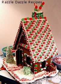 gingerbread house | bake and decorate a gingerbread house for Christmas