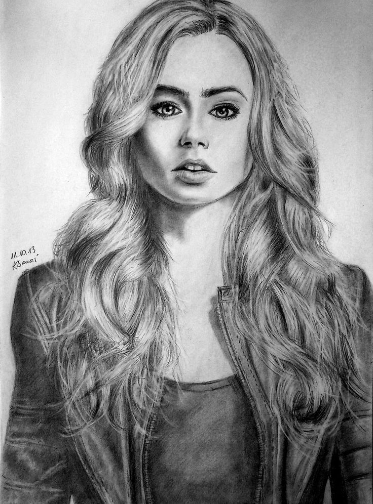 33] Lily Collins as Cl...