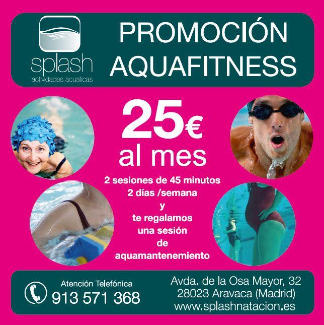 Promoción Aquafitness