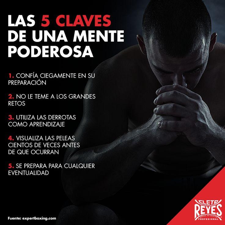 Las 5 claves de una mente poderosa. #CletoReyes #training #workout #mind #health #box