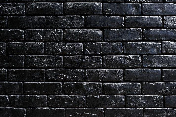 Design Space Wallpaper Free Image By Rawpixel Com Black Brick Wall Black Brick Textured Walls