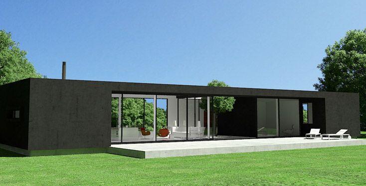 17 mejores ideas sobre casas industrializadas en pinterest - Vivienda modular hormigon ...