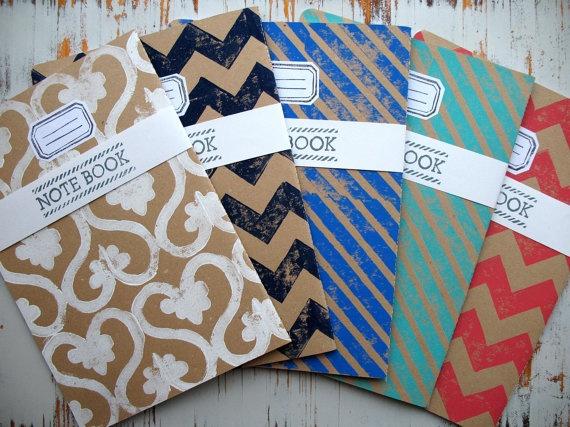 handmade Notebooks by Tam2311