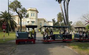 """Tren de """"La Alegria"""" Pque.Avellaneda - Bs As - Argentina"""