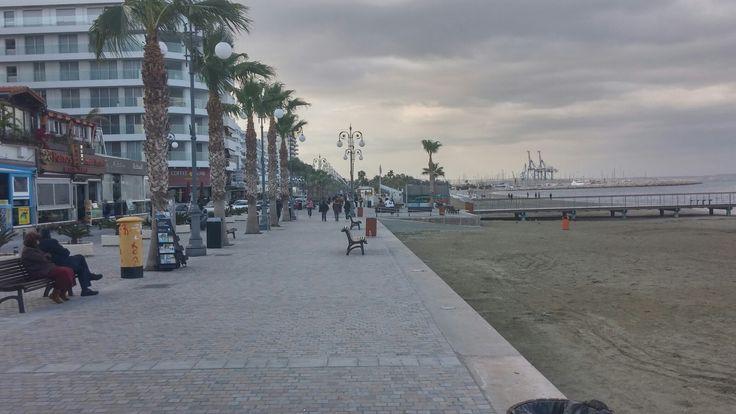 Near Finikoudes beach in Larnaka
