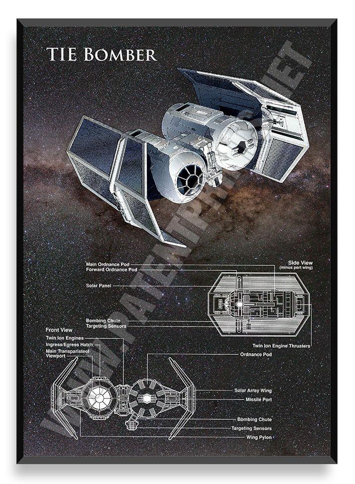 TIE Bomber, Star Wars Poster