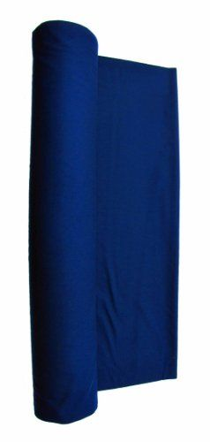 Navy Blue Worsted Fast Speed Pool Table Felt - Poker Table or Billiard Cloth for 7′ Table 108″ X 61″