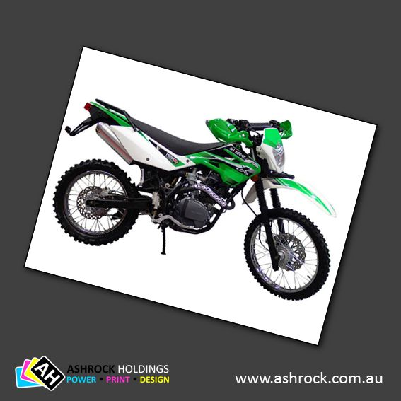 As with the original SHINERAY Scrambler XY150GY-11, this new model (the 11-C) sets the standard for 3/4 trailbikes on the world market to date. All efficient OHC engine producing excellent torque t...