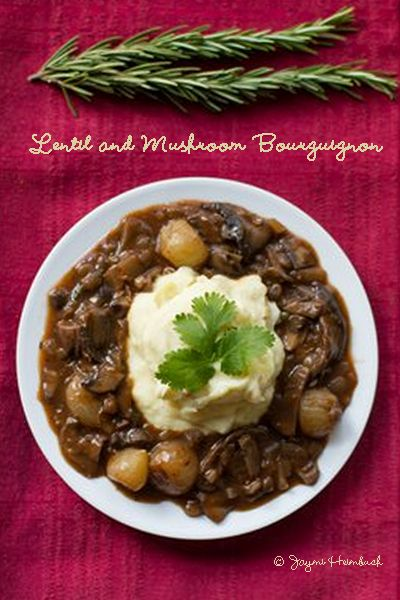 Meatless Monday with #Vegan Lentil and Mushroom Bourguignon http://www.miratelinc.com/blog/meatless-monday-with-vegan-lentil-and-mushroom-bourguignon/
