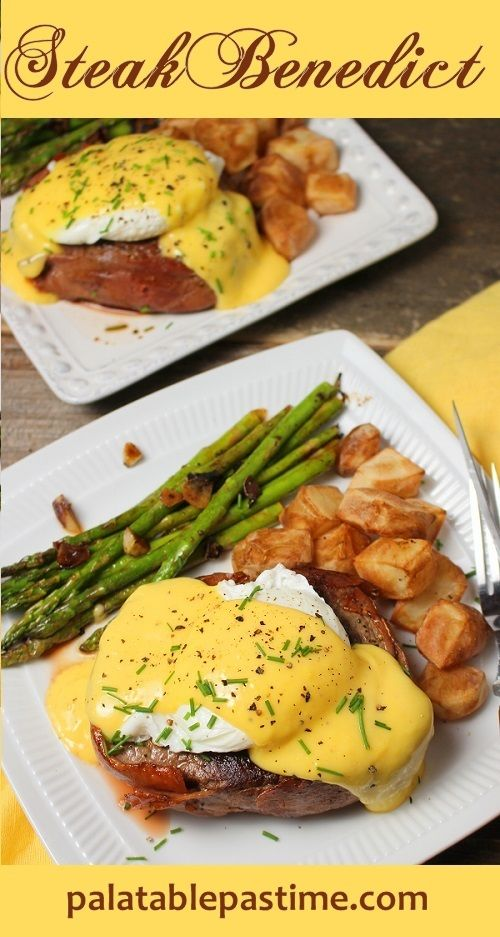 Steak Benedict for #SundaySupper