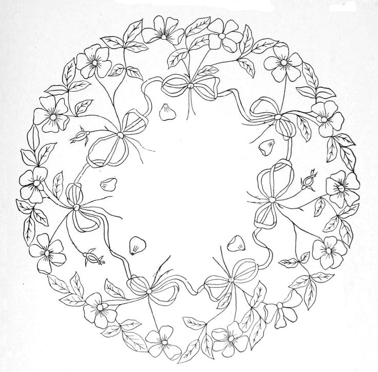 Best images about embroidery borders circles on