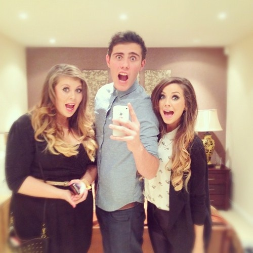 Louise, Alfie & Zoe! i love them!