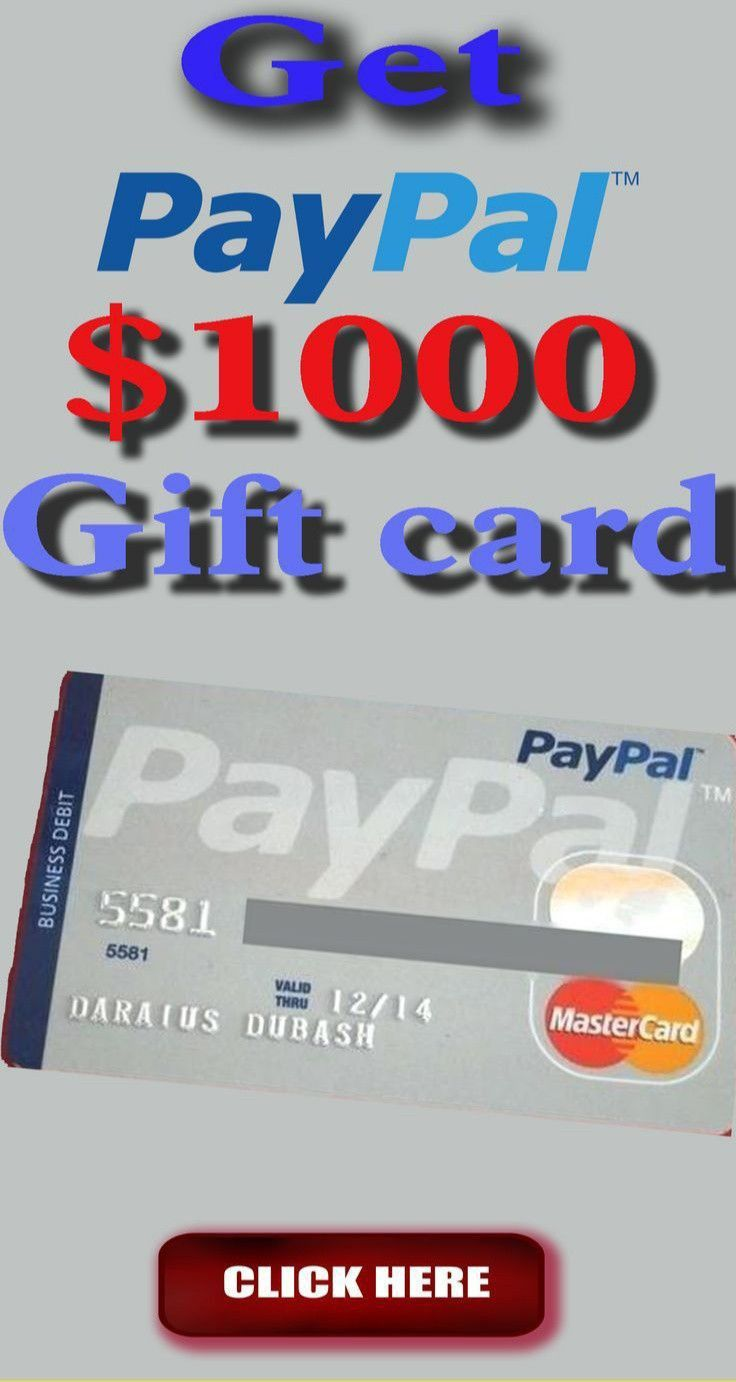Free Paypal Gift Card Giveaway Paypal Gift Card Sell Gift Cards Amazon Gift Card Free