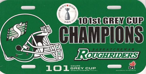 2013 Grey Cup CHAMPS