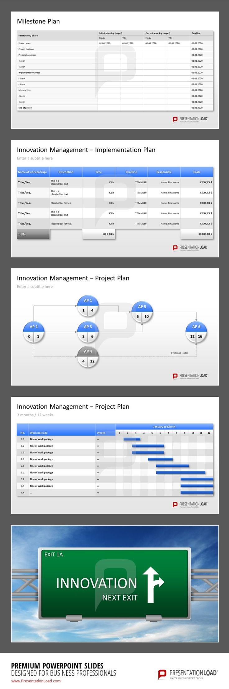 Projekt Management PowerPoint Vorlagen Business Analyse PowerPoint Vorlagehttp://www.presentationload.de/index.php