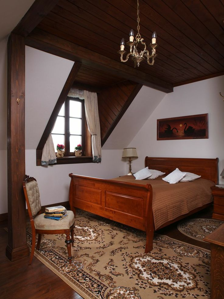 "Room number 6 in the ""Swans"" - Riverside Manor (Kiermusy, Poland)."