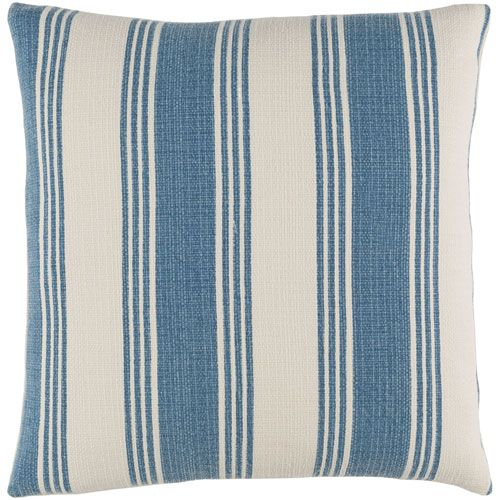 Anchor Bay Blue And Neutral 20 Inch Pillow Cover Part 74