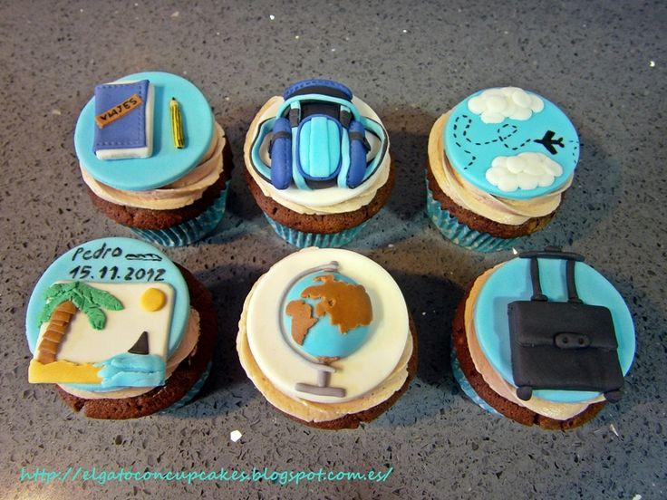 Bon Voyage Cakes Decoration